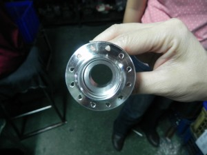 wheel hub manufacturing, cold forge, CNC