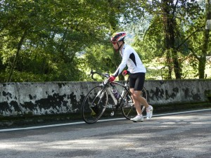 he huan shan climbing cycling