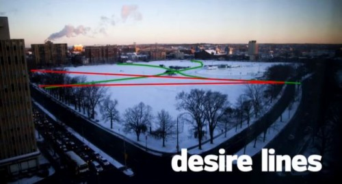 Mikael Colville-Andersen desire lines